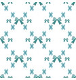 mint blue green tartan seamless with tie bows vector image vector image