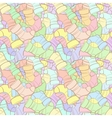 seamless pattern of randomly scattered vector image vector image