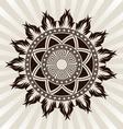 sun-ornament vector image