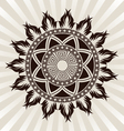 sun-ornament vector image vector image