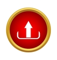Upload icon simple style vector image vector image