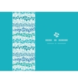 Abstract ice chrystals texture horizontal seamless vector image vector image
