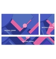 Abstract material design backgound vector image vector image