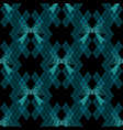 cute abstract bow tie seamless pattern background vector image vector image