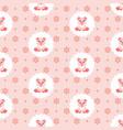 cute bapig in bib icon seamless vector image vector image