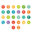 Funny english alphabet vector image vector image
