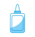 glue bottle icon vector image vector image