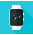 Light Smart Watch Flat Stylized vector image