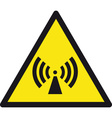 Wireless Radio Signal Sign vector image vector image