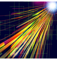 Abstract technology background with light effect vector image vector image