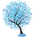 frozen winter vector image vector image