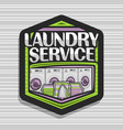 logo for laundry service