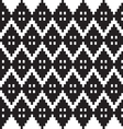 monochrome elegant seamless patterns vector image