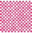 pink puzzle pieces jigsaw - - field chess vector image vector image
