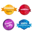 Set of product offer emblems vector image vector image