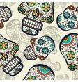 Sugar skulls background