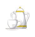 tea kettle icon image vector image vector image