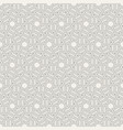 abstract seamless pattern hexagonal grid vector image vector image