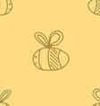 bee pattern abstract animal art seamless