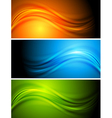 Colourful banners vector image vector image