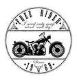 free-rider-logo vector image