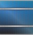 geometric blue mesh background with stripes of vector image