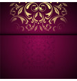 Gold oriental arabesque pattern background with
