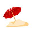 icon parasol vector image vector image