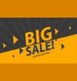 modern sale banner template design vector image