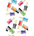 nail polish bottle vector image vector image