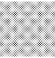 seamless black and white geometrical dot pattern vector image vector image