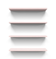 Shelves vector image vector image