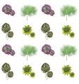Green plants collection vector image