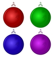 christmastree decoration vector image vector image