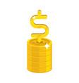 Dollar growing stack