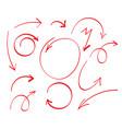 grunge sketch handmade doodle vector image