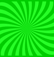 Hypnotic twisting ray background vector image