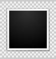 photo frames template mockup vector image vector image