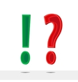 question and answer vector image
