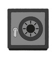 strongbox security device vector image vector image