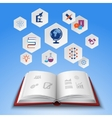 Education Concept Set vector image vector image
