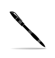 icon of pen vector image vector image
