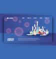 laboratory equipment banner web design vector image