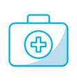 medical bag cartoon vector image vector image