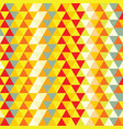 nice triangle pattern vector image vector image