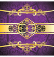 Purple Decorative Background3 vector image vector image