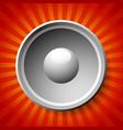speaker or loudpseaker background vector image