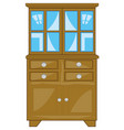 home furniture closet vector image