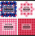 abstract geometric pattern with lines rhombuses a vector image vector image