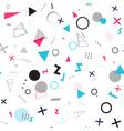 abstract geometric seamless pattern minimal vector image